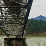 Bridge of the Gods underneath