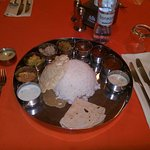 South Indian Thaali meals