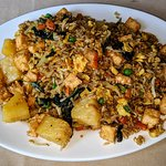 Basil Curry Fried Rice