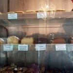 Variedad de budines para venta al público