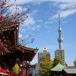 View of Sky Tree from Asakusa