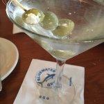 Martini w Blue Cheese Stuffed Olives