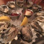 Oysters on the Half Shell w Lemon, Horseradish Sauce