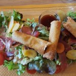 Traditional mountain salad with a modern twist