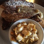 Tavern French toast and hash brown casserole