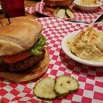 Lamb Burger & the Pimento Pig