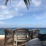Restaurant ocean side seating