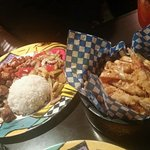 Special Combination and Japanese poutine