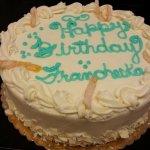 Carrot Torte (8-inch) Birthday Cake