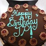 Chambord Torte (8-inch) Birthday Cake