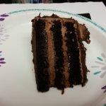 Chambord Torte Slice