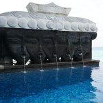 pool side, 1 of 3 pools