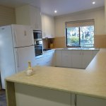 New kitchen and appliances in Banksia Cottage at Eagles Rise, Sisters Beach