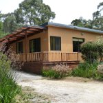 Casuarina Cottage at Eagles Rise has a covered BBQ area, Sisters Be
