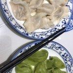 two kinds of dumplings