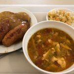 roladka + zupa rybna