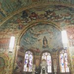 The ceiling above the alter at St Mary's Church, Bairnsdale