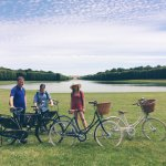 These classy bikes are the perfect way to escape the crowds!