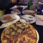 Pure Italian food in Italian test