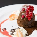 Huisbereide desserts.