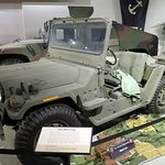 an updated military jeep from the 1990's