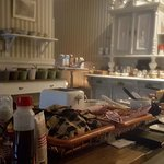 Cozy atmosphere in the breakfastroom.