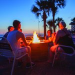 Gather 'round the firepit with friends and family