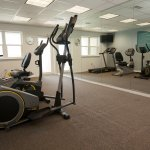 Guests are welcome to enjoy use of our fitness center