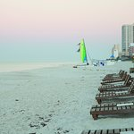 Enjoy a gulf sunset right on the beach