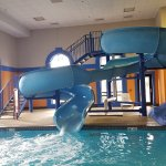 Loved the pool and the slide is great!