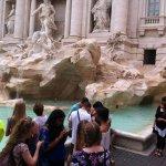 Trevi-Brunnen (Fontana di Trevi) Foto