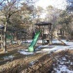 parque infantil en zona picnic