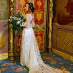Bride in the Music Room at the Royal Pavilion