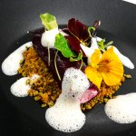 Goats Cheese and Beetroot Canneloni