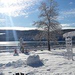 Evan's Cove is now frozen!