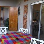 Porch of the La Palma room