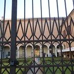 corte e giardino del Palazzo Diamanti