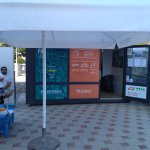 Office in front of supermarket Lorenco