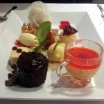 Dessert taster - a little of everything deliciously sweet.