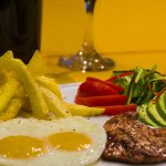 Our delicious churrasco, a guest favorite and a traditional flavor important of ecuadorian cultu