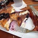 Blueberry Cheesecake French Toast..YUM