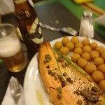 Trucha con alcaparras