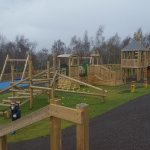 Beutiful new play area with picnic benches