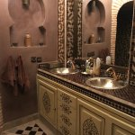 salle de bain suite chocolat