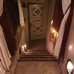 escalier montant à la suite chocolat