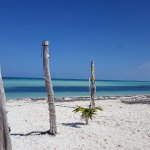 This secluded, drop dead gorgeous beach is all yours.