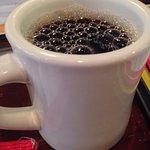 Thick mug to keep that coffee hot. #UpCloseSavor