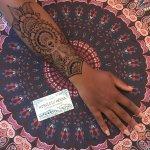 Henna and Jagua temporary tattoos :)