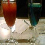 Cocktails alcoolisés maison Café des lacs et Chinese red.