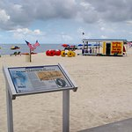 Biloxi Beach - Historical Marker